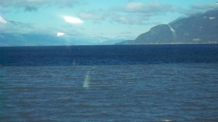 Looking north on Kootenay Lake
