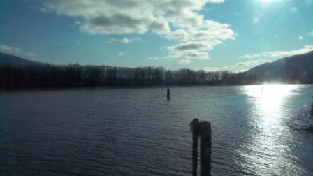 Kootenay River from trestle