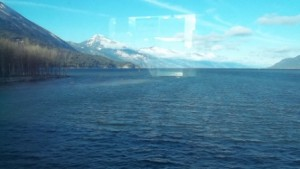 Kootenay Lake from trestle