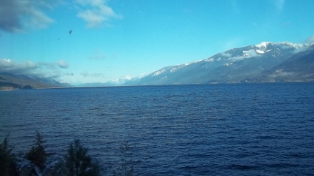 Kootenay Lake looking north