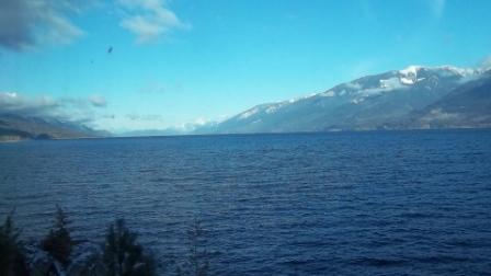 Kootenay Lake looking north