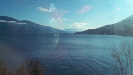 Kootenay Lake looking south