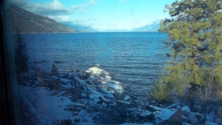Kootenay Lake from Tye