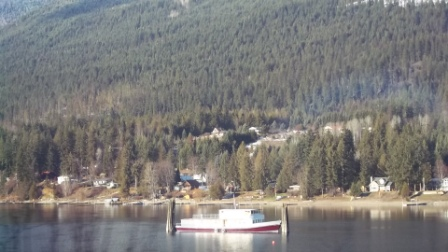 Boat on West Arm