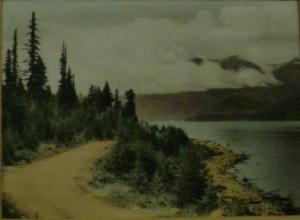 Lake road photo
