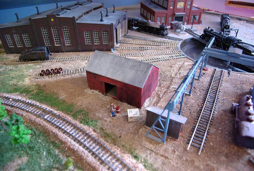 Rail Yard Turntable