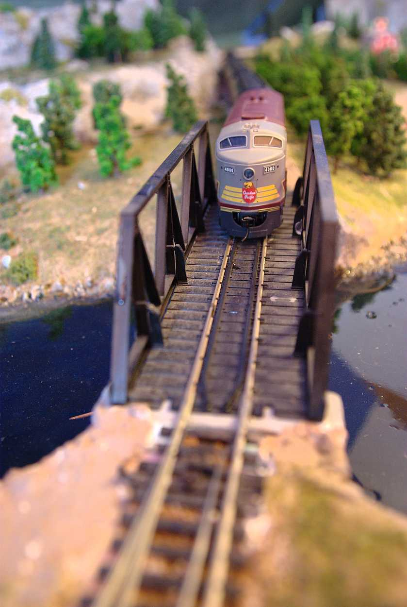 Train Over River