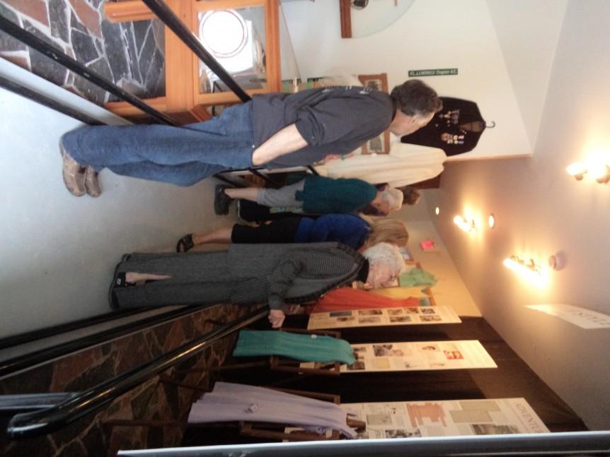 Irwin Crosthwait exhibit at the Creston Museum