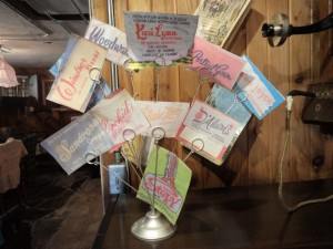 Vintage clothing labels  - Retro Girls at Creston Museum