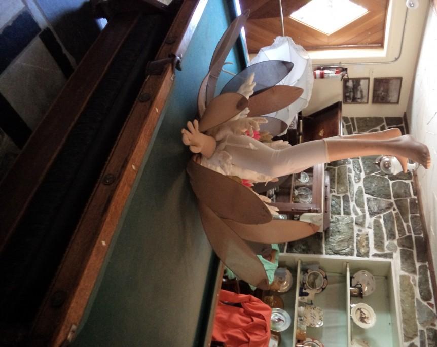 Sandy Kunze at Creston Museum