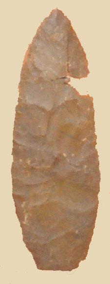 Ktunaxa spear point, Creston BC