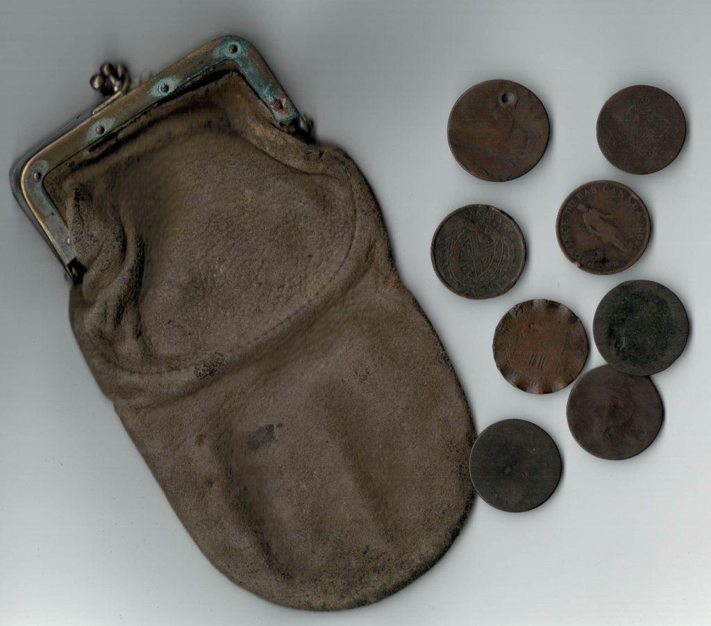 Fur traders' coins, Creston BC