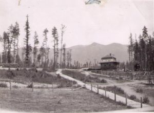 CPR station, Creston BC, 1905
