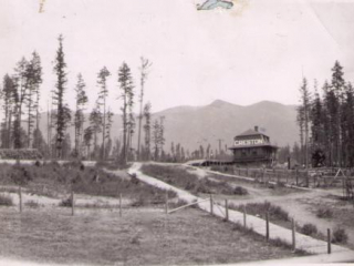 CPR station, Creston BC, 1905