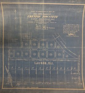 Townsite Map of Creston BC, 1907