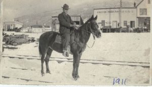 George Hood, 1911, Creston BC