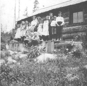Alice Siding School, near Creston BC
