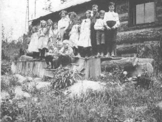 Alice Siding School, near Creston BC