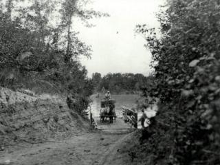 West Creston Ferry, near Creston BC, circa 1910