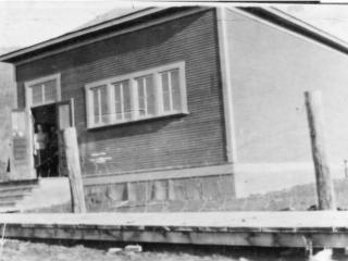 Creston High School Creston BC, 1919.