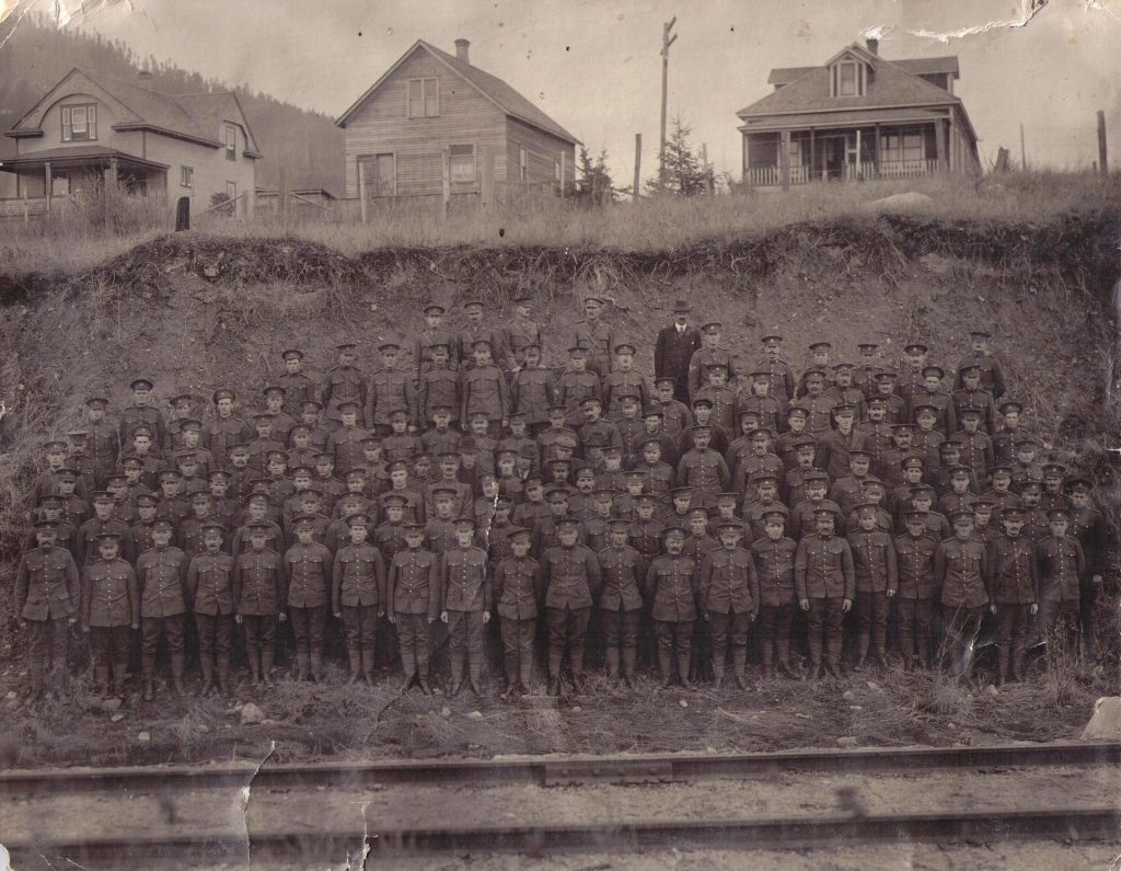 Forestry Corps, 1917, Creston BC