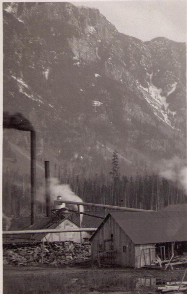 Canyon City Sawmill, near Creston BC