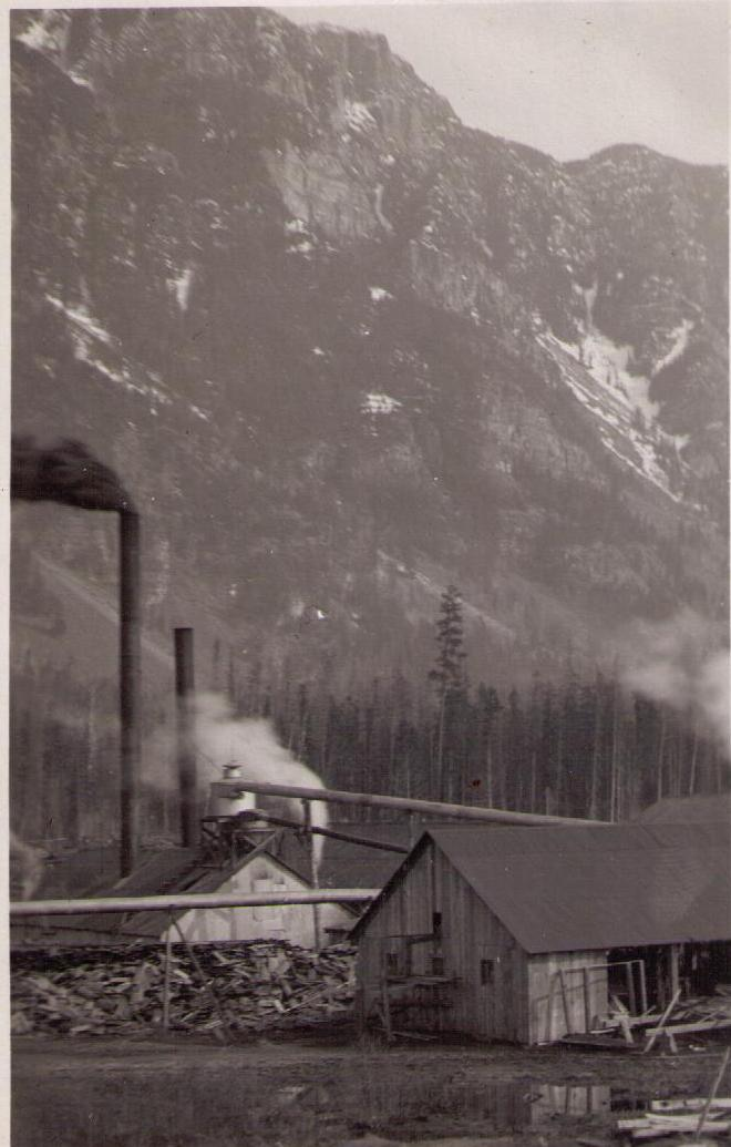 Canyon City Sawmill, near Creston BC