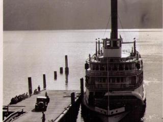 SS Nasookin, car ferry at Gray Creek