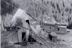Bayonne Mine near Creston BC