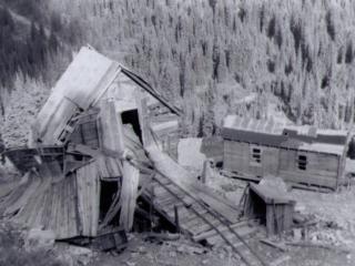 Bayonne Mine near Creston BC
