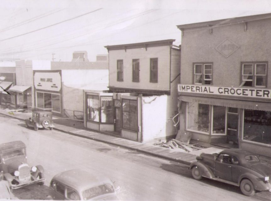 Canyon Street, Creston BC. 1947