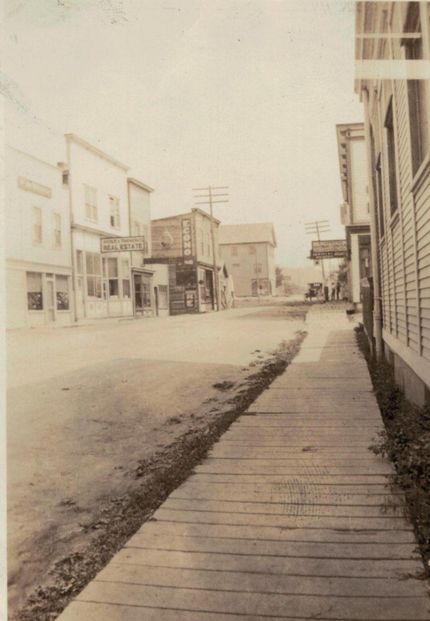 Creston BC, 1922