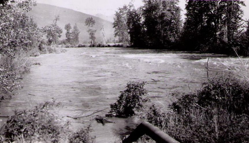 Flood of 1948, Creston BC