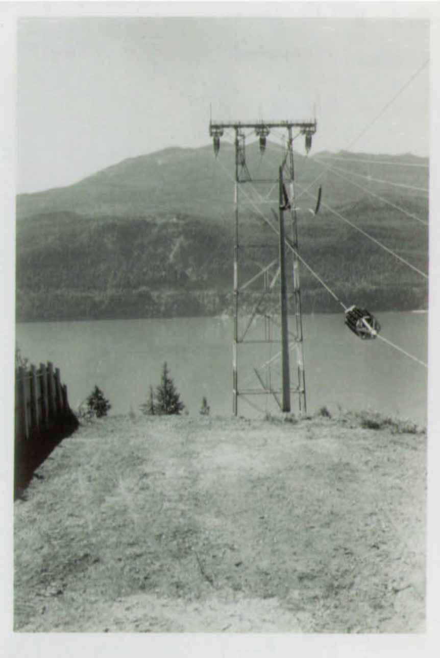 WKP Tower near Riondel, 1952