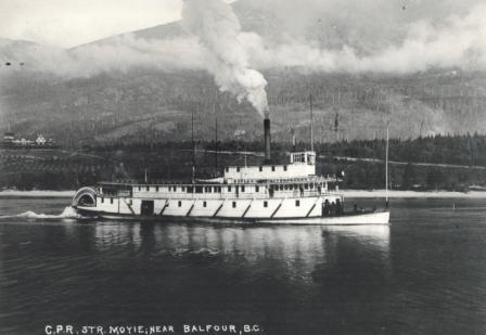 SS Moyie, Kootenay Lake, BC