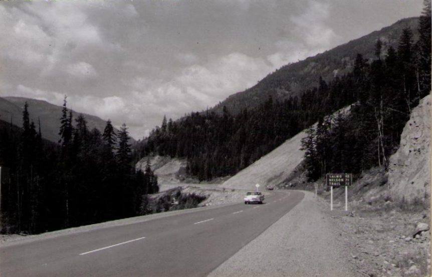 Salmo-Creston highway, Creston BC