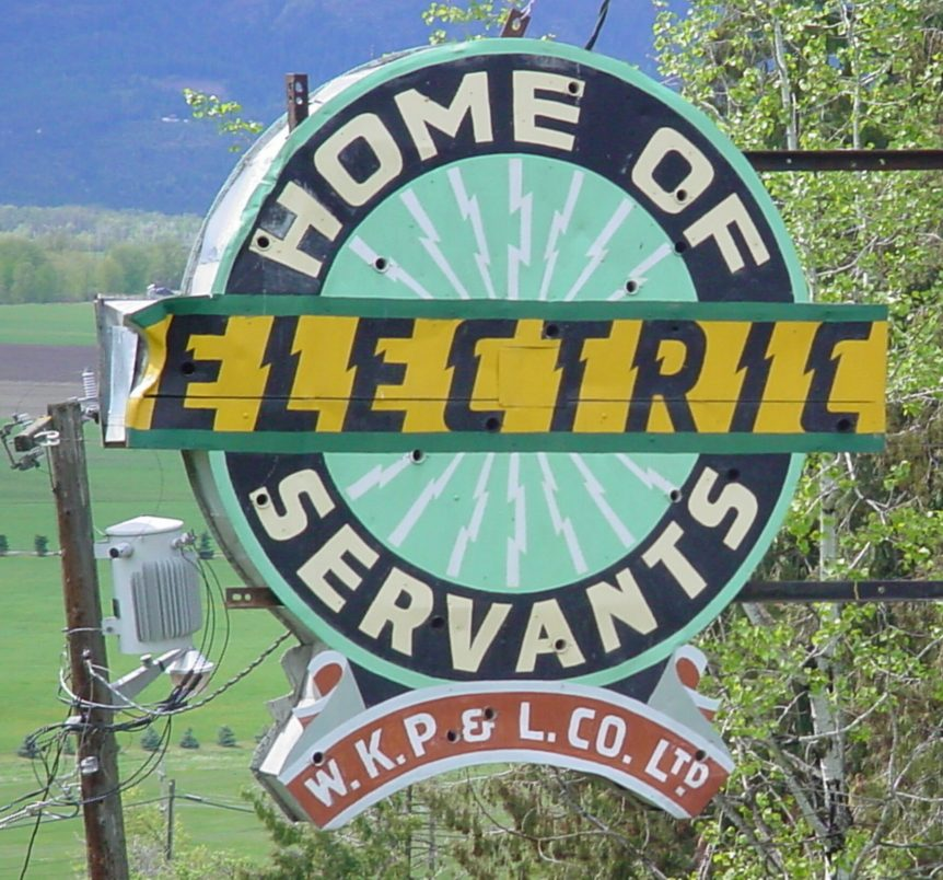 Electrical Power, West Creston BC