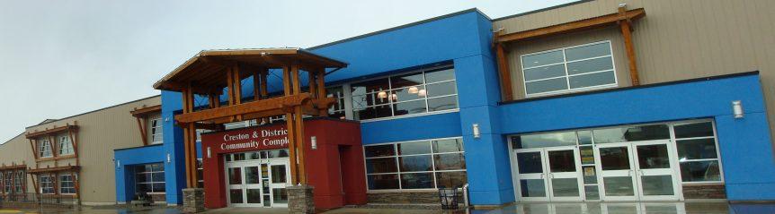 Creston Community Complex, Creston BC