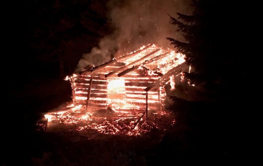 Jordan's Cabin Fire