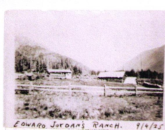 Edward Jordan's Ranch, September 4, 1925
