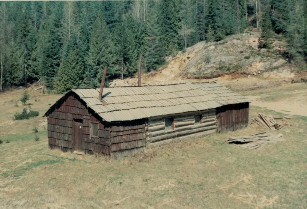 Jordan's Cabin, 1966. Ellis Anderson photo